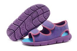 Wholesale Sandal Kids Brand - kids shoes the selling 2017 brand Summer Children's Sandals Slip-resistant Wear-resistant sport Sandal Sneakers Slippers free shopping