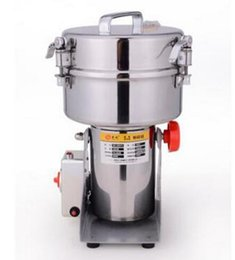 Wholesale Herb Grinding Machine - Multifunction Swing Type 2000g Portable Grinder Herb Flood Flour Pulverizer Food Mill Grinding Machine
