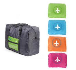 Wholesale Travel Bag Wheel Men - 4 Colors Foldable Nylon Suitcase Hand Luggage Cabin Small Wheeled Travel Folding Flight Bag Large Capacity Case Travel Insert Handbag ak056