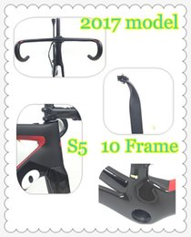 Wholesale Di2 Road Bike - Carbon Road Bike Frame 475-575 Di2 and Mechanical PF 10 S5 SL 5 Super Light carbon road Frame+Fork+headset carbon bicycle frame
