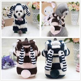 Wholesale Rabbit Clothing For Dogs - Dog Clothes Sweater Cute Big Rabbit Ears Party Costume for Small Medium Puppies Cheap Pet Supplies