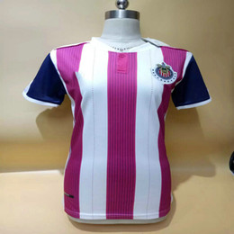 Wholesale Custom Women Clothing - ^_^ Wholesale CHIVAS women soccer jerseys guadalajara thai AAA quality custom name number lady soccer uniform girl football jersey clothing