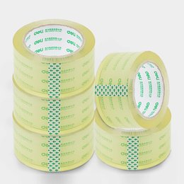 Wholesale Carton Sealing Packing Tape - transparent Packing wide tape High tenacity strength High viscosity sufficient amount Environmental tasteless Not easy to break 48mm*100y