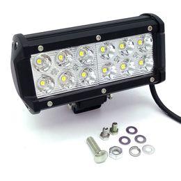 Wholesale Rectangle Driving Lights - 36W 12V-24V Spot Flood Beam LED Work Driving Light bar spot lamp 4X4 ATV DRIVING SUV