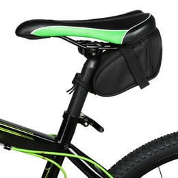 Wholesale Cycle Seats - Roswheel Bike Saddle Bag Waterproof Bicycle Bag Rear Seat Pouch Quakeproof Mountain Cycling Saddle Seatpost Tail Pouch Package free shipping