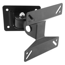 Soporte giratorio universal para montaje en pared de TV para TV de panel plano LCD de 14 ~ 24 pulgadas HMP_606 desde fabricantes