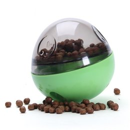 Wholesale Puppy Treats - Our Pets Smarter Interactive Iq Treat Ball Dog Toy Pet Dog Puppy Chew Toys Ball Play For Training Thermal Plastic Ball Toy