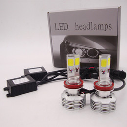 Wholesale H7 Led Kit - CREE LED Conversion Kit 180W 18000LM All in One 4 sides LED Bulb Headlight White Light Lamp H4 H7 H11 9005 9006 9007