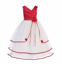 Wholesale Evening Ceremony Dress - Cake Formal Long Evening Kids Party Wear Dress 2017 Girls Clothes Ceremonies Party Dresses For Girls
