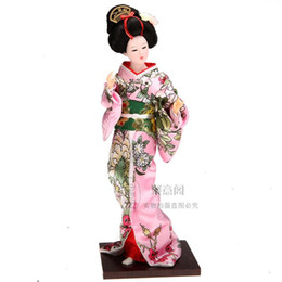 Wholesale Japanese Wedding Dolls - Japanese kimono doll doll ornaments decorations Japan geisha silk crafts Tang Fang