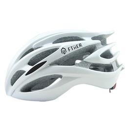 Wholesale Mountain Bike Women Helmets - Ftiier 5 colors Bicycle Helmets FT17 Men Women Helmet Mountain Road Bike Integrally Molded Cycling Helmets SIZM 56-62CM
