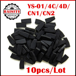 Wholesale Quality Nissan - 10pcs lot auto car transponder chip YS01 Chip for CN900  ND900 ys01 ys-01 copy 4c and 4d transponder chip with high quality