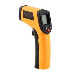 Wholesale Temperature Gun Infrared Thermometer - LCD Digital Display GM320 Infrared Thermometer Laser Non-contact Temperature Tester IR Temperature Laser Gun Instrument Device