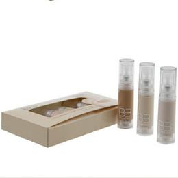 Wholesale Professional Liquid Foundation - Wholesale New Professional Makeup Face 7pcs 1set Base Liquid Foundation Beauty Women Long Lasting Waterproof BB Cream 7ml
