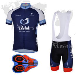 Wholesale Iam Cycling - 2017 IAM team Summer New Arrival Cycling clothing cycling jersey (bib)shorts sets Ropa Ciclismo Man Quick-Dry 9D GEL Pad Bike Clothing A125