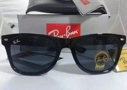 Wholesale Sunglasses Aviators Brand - 54mm 2140 Hot Sale Aviator RAY Sunglasses Vintage Pilot Brand Sun Glasses Band Polarized UV400 BANS Men Women Ben wayfarer sunglasses