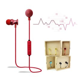 Wholesale Android Magnets - STN999 Bluetooth Headphone Wireless Sport Headset with Magnet In-Ear Earphone for Apple iPhone Samsung S6 S7 edge Plus Android Phone