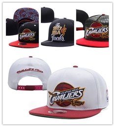 Wholesale Top Hats Sale Cheap - Top Sale Cleveland Basketball Adjustable Snapback Thousands Snap Back Hat For Men Basketball Cheap Hat Adjustable men women Baseball Cap