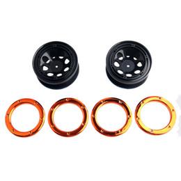 Wholesale Rc Buggy Wheels - RC HSP 18014 Wheel Rim 2P & Metal mounting ring HSP 94180 1 10 4WD Rock Crawler