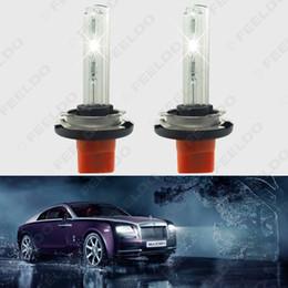 Wholesale Audi Xenon Conversion - FEELDO 2x 6000K White 12V 35W H15 Xenon HID Bulbs Car Replacement HID Headlights Singel Bulbs #2011