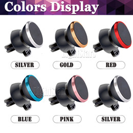 Wholesale Car Step - Car Mount, Air Vent Magnetic Universal Car Mount Phone Holder for iPhone 6 6s, One Step Mounting ,Reinforced Magnet, Easier Safer Driving