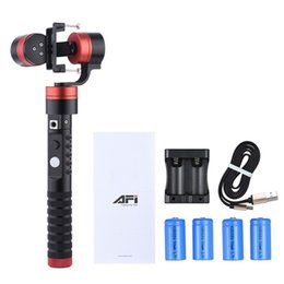 Wholesale Gyro Gopro - New Arrival AFI VS-3SG 3-Axis Brushless Handheld Gimbal Camera Gyro Stabilizer for GoPro 4 3+ 3 Xiaoyi AEE SJCAM