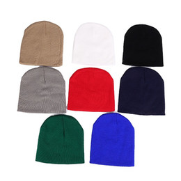 Wholesale fine weave - For Men And Women Beanie Jacquard Weave Wool Knitting Peas Hat Four Angle Fine Stripes Short Cap New Arrival 3 5lz B