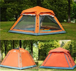 Wholesale Family Recreation - Wholesale- outdoor recreation family camping 4 person tent travel automatic tents for beach camping equipment professional tent camp
