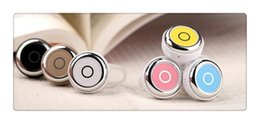 Wholesale Earphones Control Talk Iphone - Hot Mini Wireless Bluetooth Earphone Q3 In-Ear V4.0 Stereo Headphone Voice Control Headset with Mic for All Phone Talk and Music