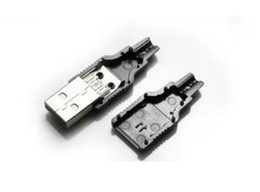 computer pin connectors Coupons - Computer Cables & Connectors IMC Type A Male USB 4 Pin Plug Socket Connector With Black Plastic Cover