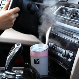 Wholesale Power One Supplies - Led Aroma Diffuser Ultrasonic Humidifier USB 5V 2W 4Colors 300ML Ultrasonic Mist Maker Fogger Car Diffuser Aromatherapy For Car