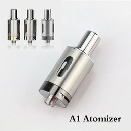 Wholesale A1 Clearomizer - Wholesale-Original KSD Vamo One A1 atomizer airflow control RDA vaporizer with 0.5ohm coil replacement e cigarette 510 thread clearomizer