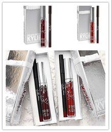 Wholesale Crazy Sales - sale crazy! 12lot Kylie Cosmetics Lip Kit Vixen Merry Holiday Edition 1 Matte Liquid Lipstick and 1 Pencil Lip Liner Vixen merry christmas