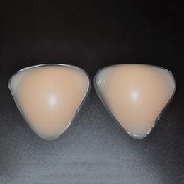Wholesale Crossdresser Pads - Sexy Women Silicone Bra Inserts Breast Pads Crossdresser Push Up Bra Insert Breast Enhancer Inserts for Dress Bikini Swimsuit YV0158