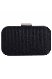 Wholesale Black Formal Clutch - Glitter Silver Black Bridal Hand Bags Clutch Bags For Formal Party Occasions with Chains Ladies Minaudiere Bags CPA956