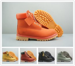 Wholesale Outdoor Netting Fabric - 2017 Hot sale Fashion Classic 10061 Wheat Yellow TBL Boots Women Mens Retro Waterproof Outdoor Work Sports Shoes Casual Sneakers Size 36-44