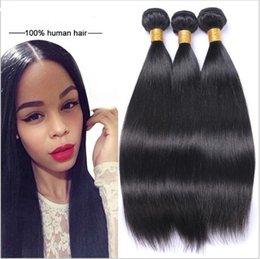 Wholesale Weaves Hair Piece Prices - Factory Supplier Brazilian Indian Hair 3 bundle of Silky Straight Weave 12 inch Human Hair Extensions only one set is on wholesale price