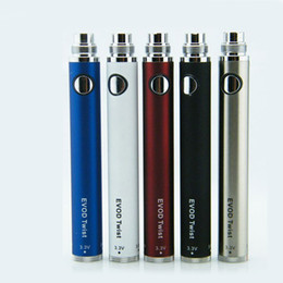 Wholesale Ecig Ce5 Free Ship - EVOD Variable Voltage Twist battery 650mAh 900mAh 1100mAh evod twist eGo ecig batteries for MT3 CE4 CE5 atomizer DHL Free Shipping