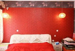 Wholesale Modern Homes Interiors - Wall Panel New Modern Home Idea 3D Interior Decoration Faux Culture faux brick Wall Panel