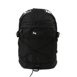 Wholesale Brand Sup SS TONAL TH BACKPACK Backpack White branche Backpack Gift Original Rain Cover Nylon Backpacks Unisex Street m reflective bag