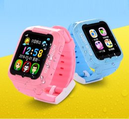 Wholesale Security Fitness - In Stock Makibes Kids K3 Smart GPS Watch Overall Waterproof MTK2503 children Security GPS Tracker GPS Watch phone with Camera MP3
