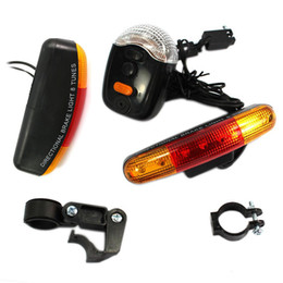 Wholesale Turn Signals For Bicycles - Wholesale- Universal 7LED Super Bright Bike Bicycle Cycling Stop Brake Light Turn Signal Night Lamp Perfect For Cycling #83305