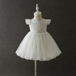 42c92bb89 vestido del bautizo del verano de las niñas Rebajas Vestidos de flores  recién nacidas para niña