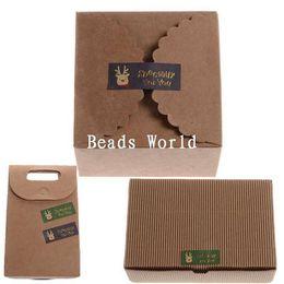 Wholesale Christmas Envelope Stickers - Wholesale- 100Pcs Paper Labels Envelopes Box Seals Sticker Merry Christmas Xmas Elk 45x18mm(W05658 X 1)