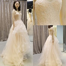 Wholesale Crystal Ball Necklace Champagne - 2017 Luxury Prom Dresses Arabic Sweetheart Beads Evening Dresses Backless Zipper Custom Made Guest Dresses Sweep Train With Free Necklace