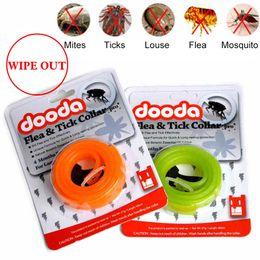 Wholesale Neck Strap Ring - Practical Insecticidal Anti Flea Pet Dogs Cat Collar Adjustable Anti-insect Mosquitoes Dog Ring Neck Straps Dog protection DOODA YKS027