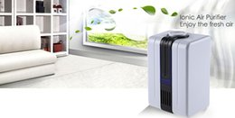 Wholesale Smoke Air Purifiers - Creative Soundless Design BYK - JY68 Negative Ion Generator Ionic Air Purifier Light Remove Formaldehyde Smoke Dust For Bedroom +B