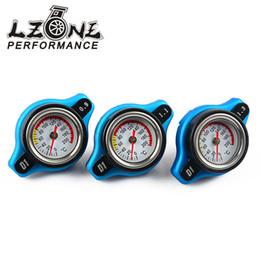 Wholesale bar radiators - Wholesale- LZONE RACING- D1 Spec RACING Thermost Radiator Cap COVER + Water Temp gauge 0.9BAR or 1.1BAR or 1.3 BAR Cover JR-DRC09,11,13