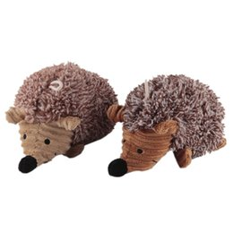 Wholesale Wholesale Sheep Toys - Pet Puppy Plush Sound Dog Toys Pet Chew Squeaker Squeaky Plush Sound Cute Sheep Hedgehog Dumb Pet Dog Cat Talking Toys 0704095