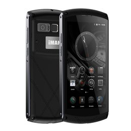 Wholesale Shockproof Waterproof Gps Phone - iMAN Victor 4G NFC Fingerprint Waterproof Shockproof Smartphone Android 6.0 MTK6755 Octa Core 2.0GHz 3GB+32GB 13MP Mobile Phone